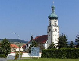 Ausflugsziel Wahlfahrtskirche Neukirchen b. hl. Blut