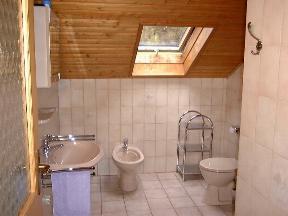 Bad WC - Ferienwohnung auf dem Bauernhof in Bayern