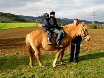 Bauernhof Reiturlaub in Bayern