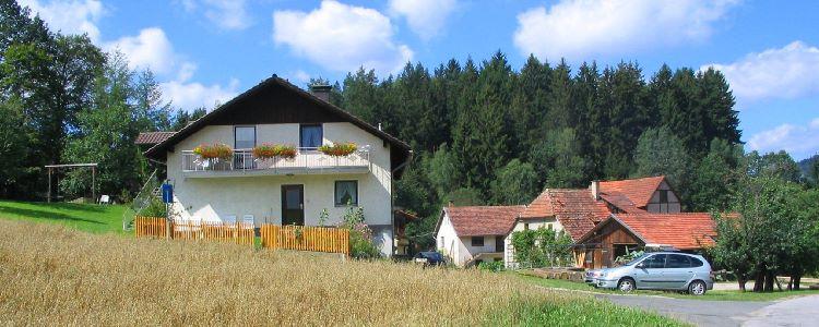 Ansicht von der Fingermühl - Urlaub auf den Bauernhof in Deutschland