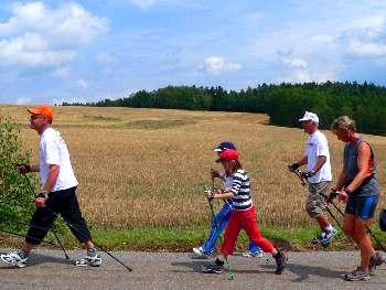 Bayerischer Wald Wanderurlaub und Nordik-Walking Urlaub