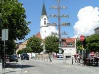 Ausflüge Bad Koetzting Stadtplatz mit Kirche