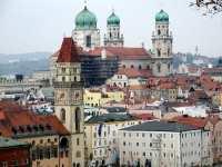 Dom und Donau in Passau - Sehenswertes in Bayern