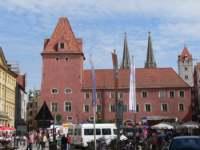 Der Haidplatz in Regensburg - Sehenswertes in Bayern