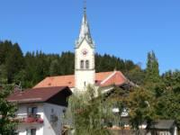 Sehenswerte Pfarrkirche St. Englmar Ausflugsziele im Bayerischen Wald