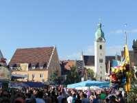 Stadtplatz und Bürgerfest in Schwandorf - Reisen in Bayern