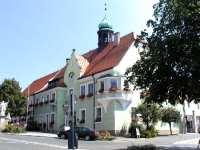 Stadtplatz von Waldmünchen - Ausflugsziel in Bayern