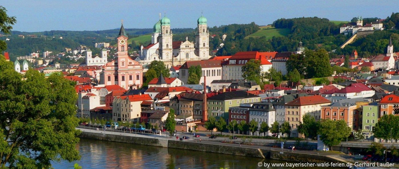 Bayern Ausflugsziele Sehenswürdigkeiten in Niederbayern